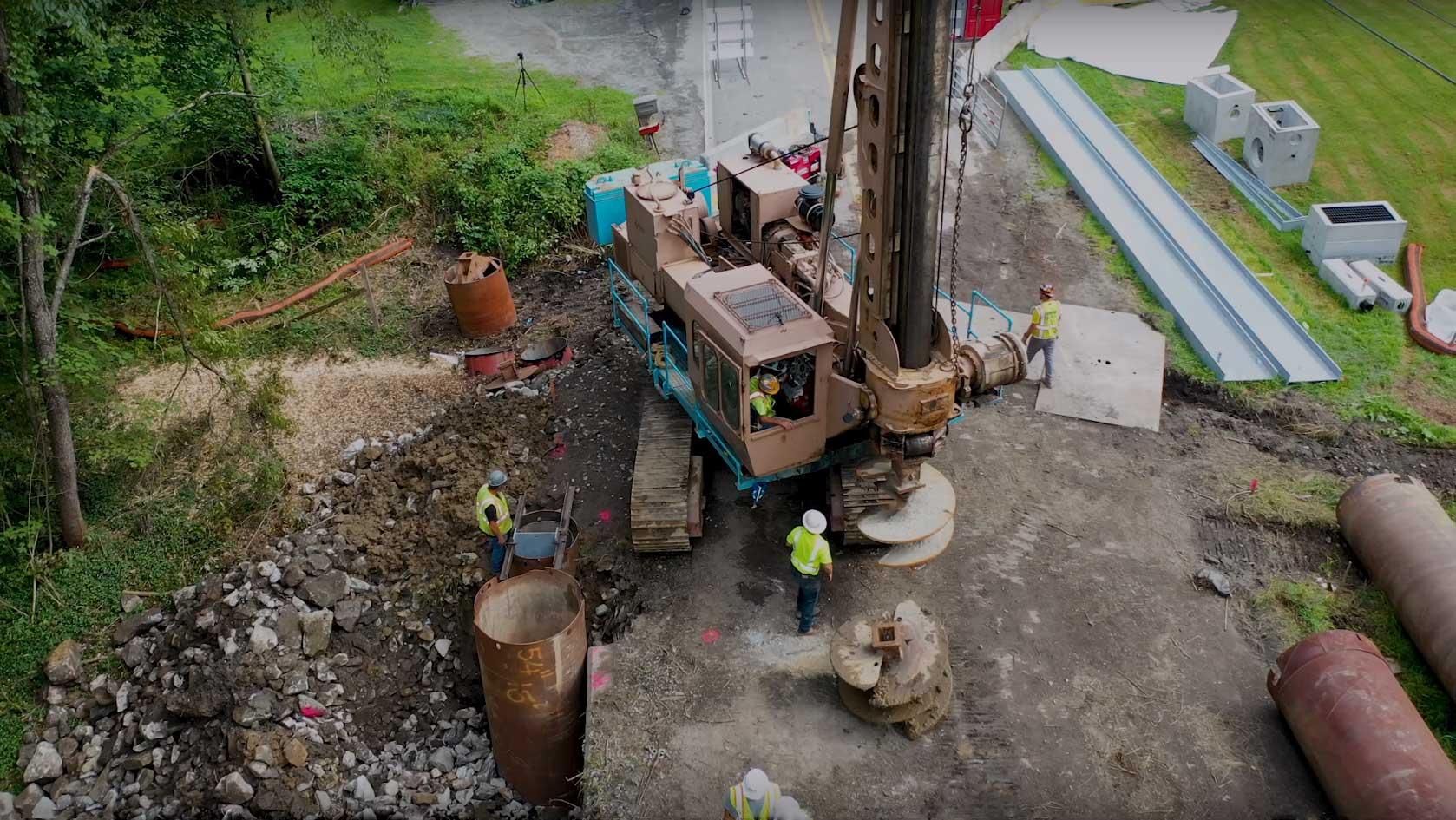 Drilling equipment aerial