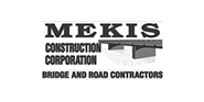Mekis Construction Corporation logo